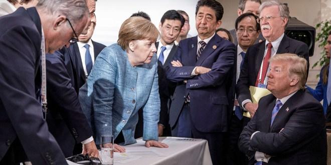 ترامب وقادة العالم