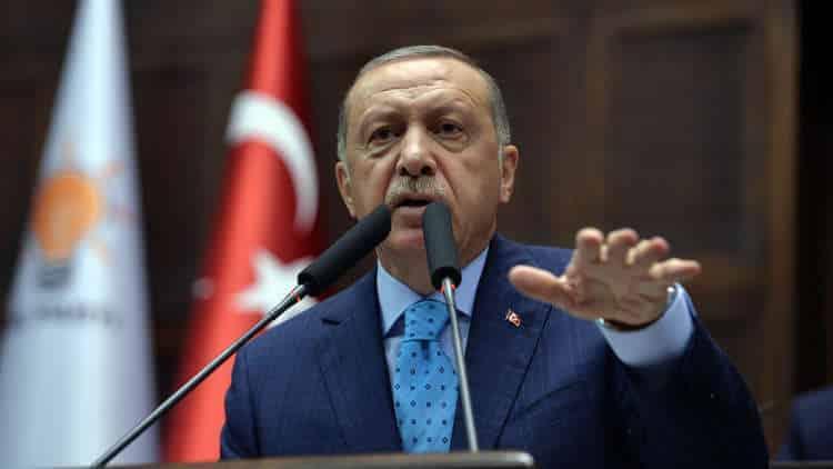 أبدى الرئيس التركي