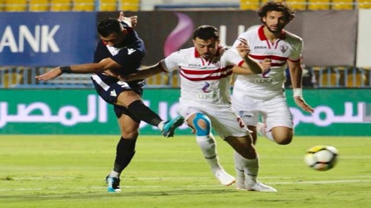 الزمالك يفوز على دجلة برباعية ويتصدر الدوري المصري