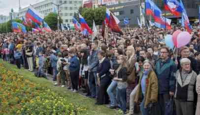10 آلاف شخص في حفل موسيقي روسي بلوغانسك 2