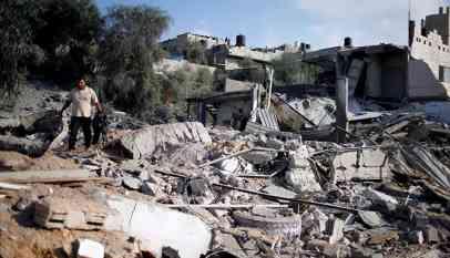 """""""الهدوء مقابل الهدوء"""" شعار هدنة جيش الاحتلال مع غزة 8"""
