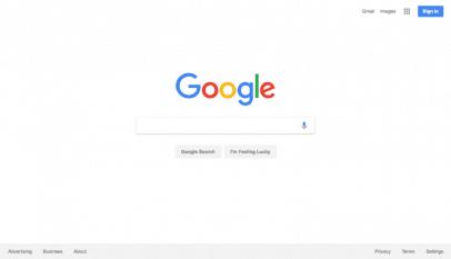 محرك بحث جوجل جديد