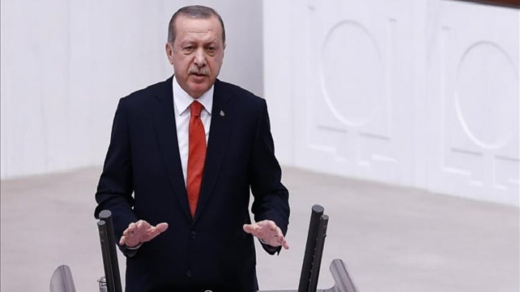 اردوغان:مؤامرة سياسية تسببت في انهيار الليرة التركية 1