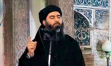 زعيم داعش : خسائر التنظيم اختبار من الله 7