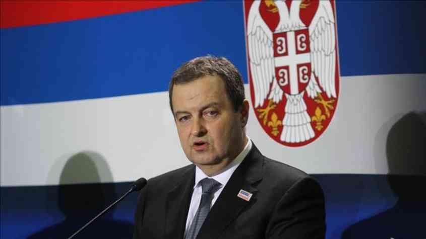 وزير خارجية صربيا
