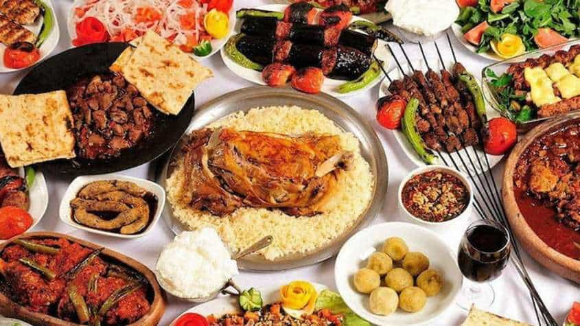أشهر أكلات المطبخ التركي