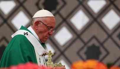 ترحيب فلسطيني بدعوة بابا الفاتيكان للحوار من اجل السلام