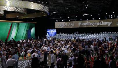 جانب من مؤتمر المعارضة الإيرانية في باريس - أرشيفية