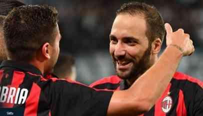 «هيجواين» ينقذ الميلان في الدوري الإيطالي