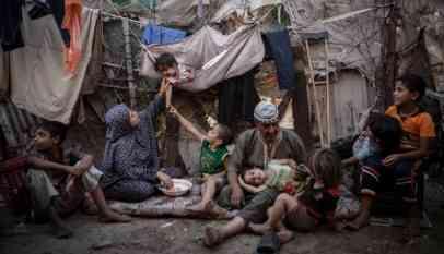50 بالمائة من سكان قطاع غزة