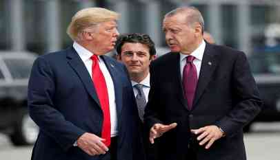 أردوغان رفض مأدبة ترامب