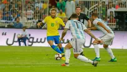 البرازيل تتوج بطلا للدورة الرباعية بفوز قاتل على الأرجنتين