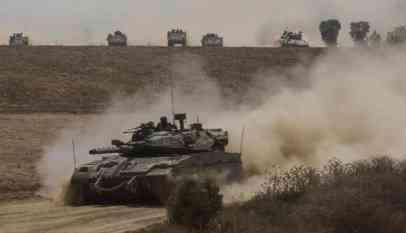 الجيش الإسرائيلي يتأهب وينتشر قرب حدود غزة