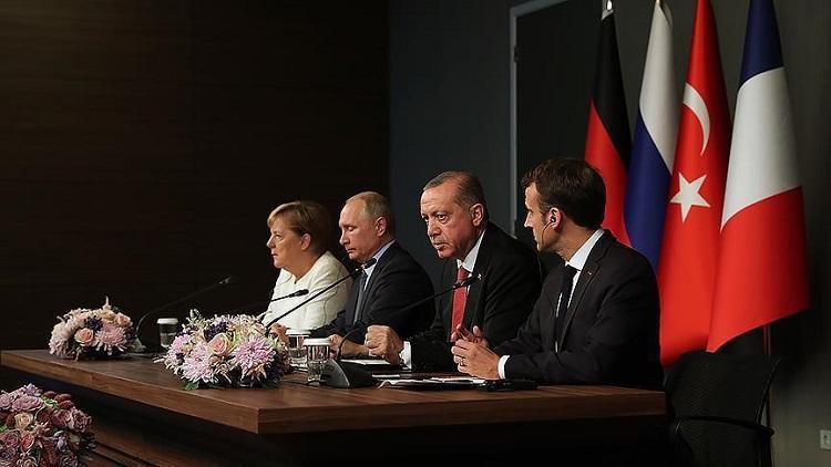 ماكرون ينتقد نهج نظام «الأسد» في سوريا