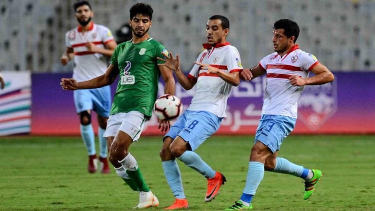 الزمالك يضرب المقاصة برباعية ويتربع على قمة الدوري المصري