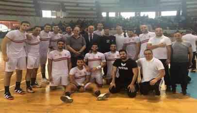 الزمالك المصري يتأهل لنهائي بطولة أفريقيا لكرة اليد