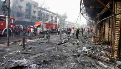 مقتل 6 عراقيين في تفجير إرهابي