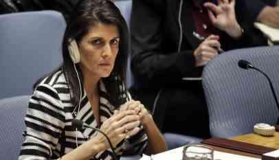 سفيرة ترامب لدى الأمم المتحدة