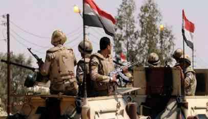 مقتل 10 إرهابيين في شمال سيناء