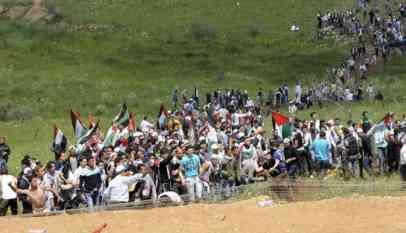 مسيرات العودة الفلسطينية