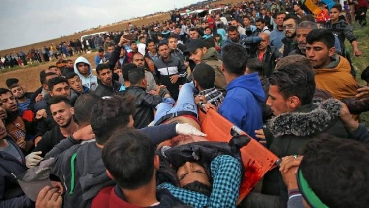استشهاد 4 فلسطينيين برصاص الإحتلال