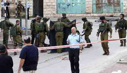 استشهاد فلسطيني برصاص الإحتلال
