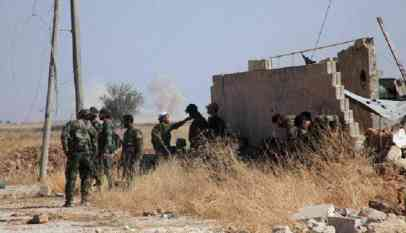 تجدد الإشتباكات بين الجيش الحر وقوات النظام السوري