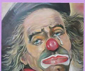 الفنان العراقى باسم الراسم للـ ( الساعة 25) الفن عنوان الشعوب