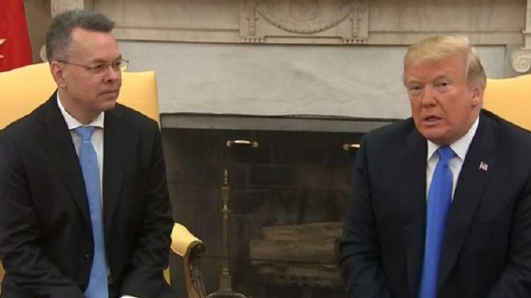 ترامب يتطلع لعودة العلاقات مع انقرة