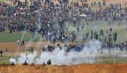 إصابة 37 فلسطينيا برصاص الإحتلال