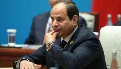 السيسي يطالب بتسوية سياسية للأزمة الليبية