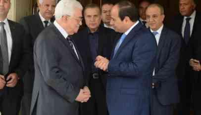 السيسي يبحث مع عباس ملف المصالحة الفلسطينية