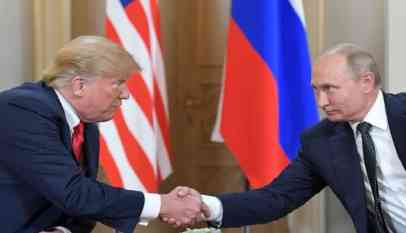 «الكرملين» يعلن عن لقاء مطول بين بوتين وترامب