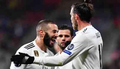 ريال مدريد يسحق فيكتوريا بلزن بخماسية في دوري الأبطال