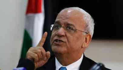 عريقات يحذر إسرائيل من أي تصعيد جديد في غزة
