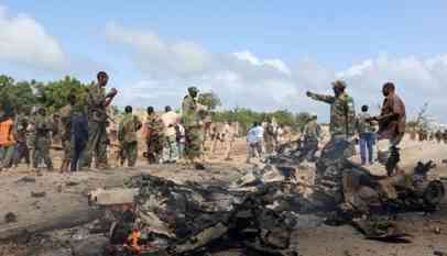 ارتفاع حصيلة تفجيرات مقديشيو إلى 39 قتيلا