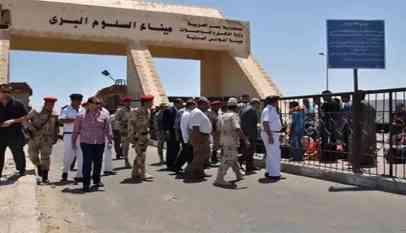 عودة 363 مصريًا من ليبيا عبر معبر السلوم