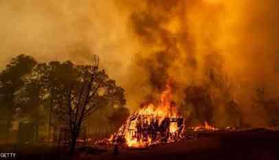 ارتفاع اعداد ضحايا الحرائق في كاليفورنيا