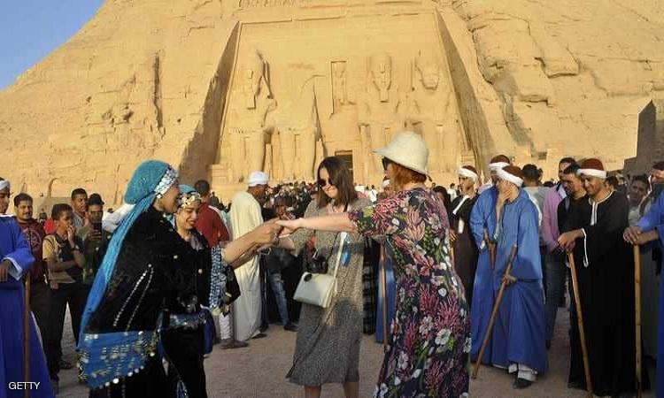 انتعاشة كبيرة للسياحة المصرية