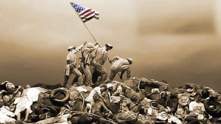الجيش الأمريكي قتل نصف مليون إنسان
