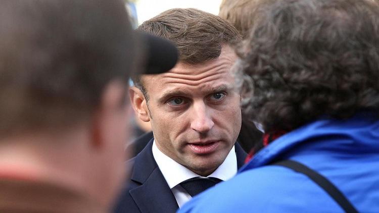 إعتقال فرنسي وجه إهانات لإيمانويل ماكرون