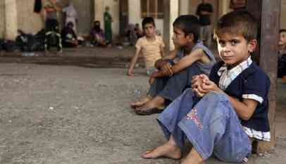 80 بالمائة من أطفال العراق يتعرضون للعنف