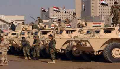 الجيش العراقي يعلن قتله 15 من داعش