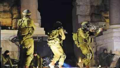 الإحتلال يعتقل 22 فلسطينيا في الضفة المحتلة