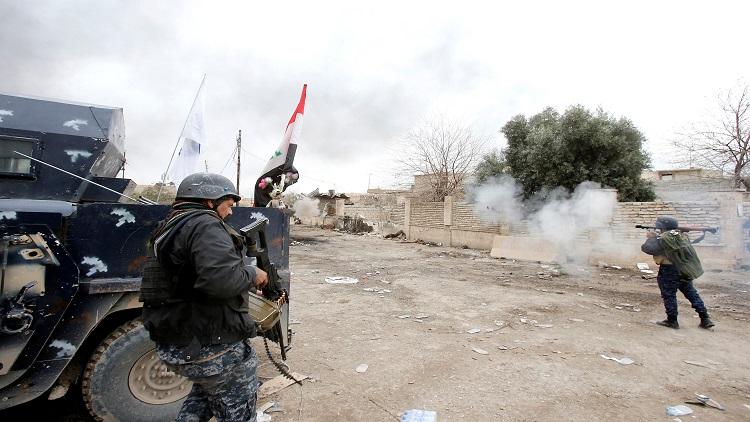 إشتباكات بين الجيش العراقي وداعش