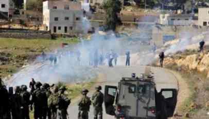 إصابة 4 فلسطينين برصاص الإحتلال في رام الله