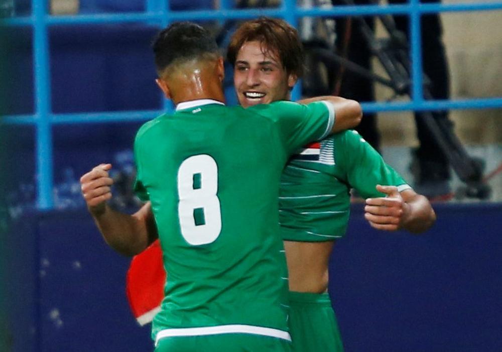 العراق يهزم الصينوديا استعداداً لنهائيات كأس آسيا