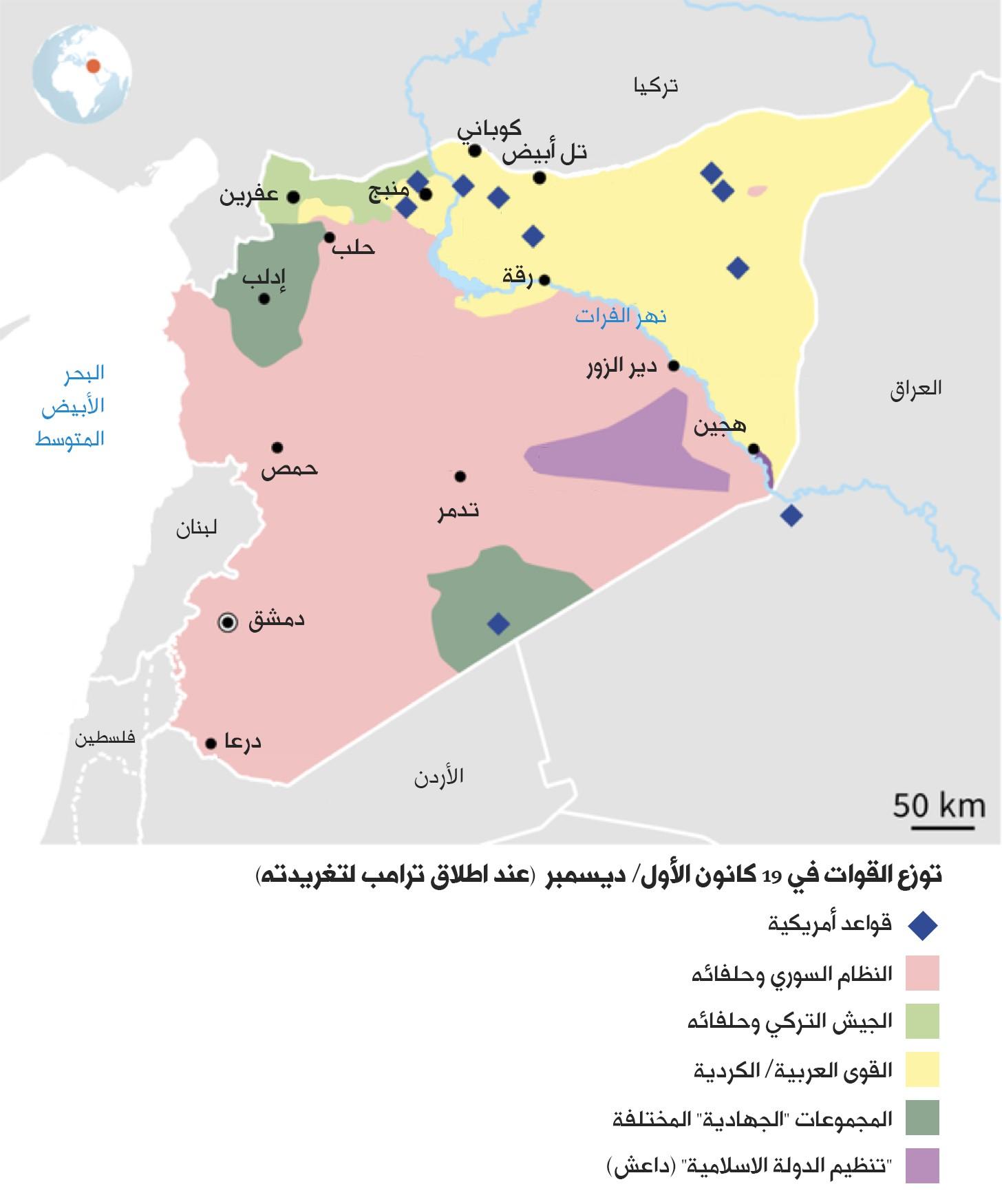 تقاسم النفوذ في سورية: الكلّ يكسب إلا العرب!