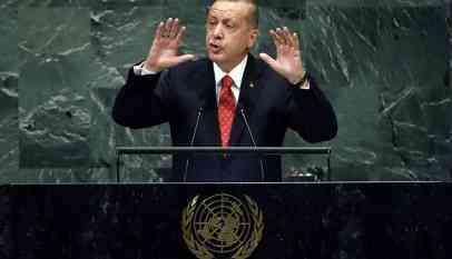 أردوغان منتقدا الأمم المتحدة: النظام العالمي الجديد همش المسلمين
