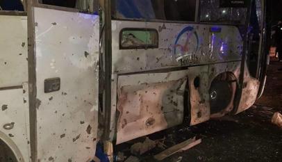 الداخلية المصرية: مقتل 2 واصابة 10 سائحا في أنفجار بمنطقة هرم سقارة بالجيزة 1